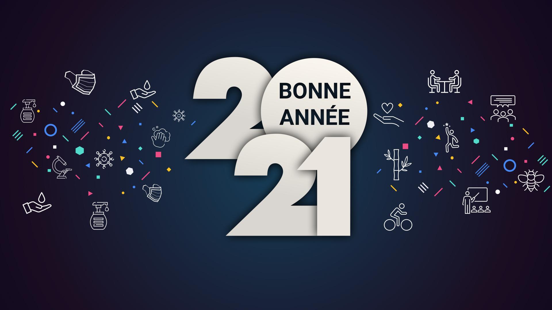 Vœux de bonne année 2021
